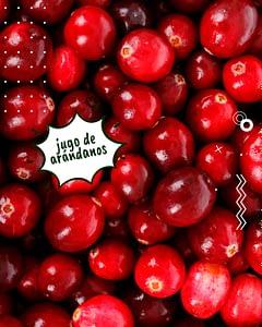 para que sirve el jugo de arandanos