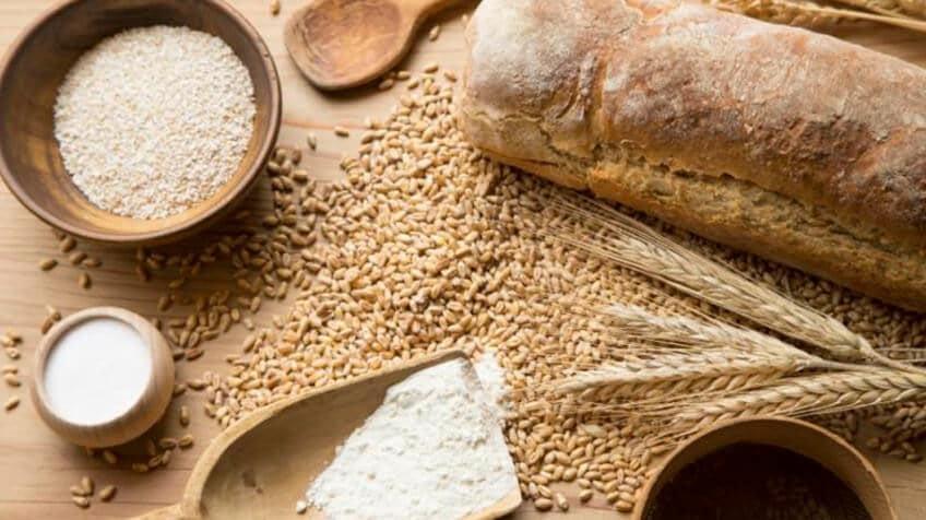 harina integral o rica en fibras
